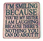 Boxer Gifts Coaster Smiling You're My...