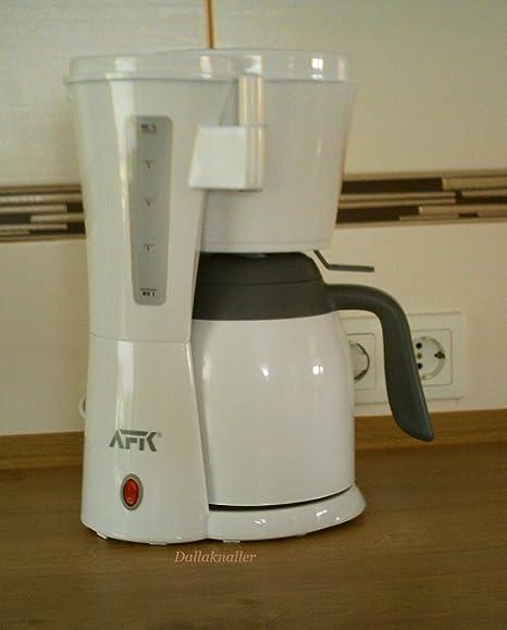 Cafetera de máquina Jarra Térmica AFK KM de 1000.1p Color Blanco ...