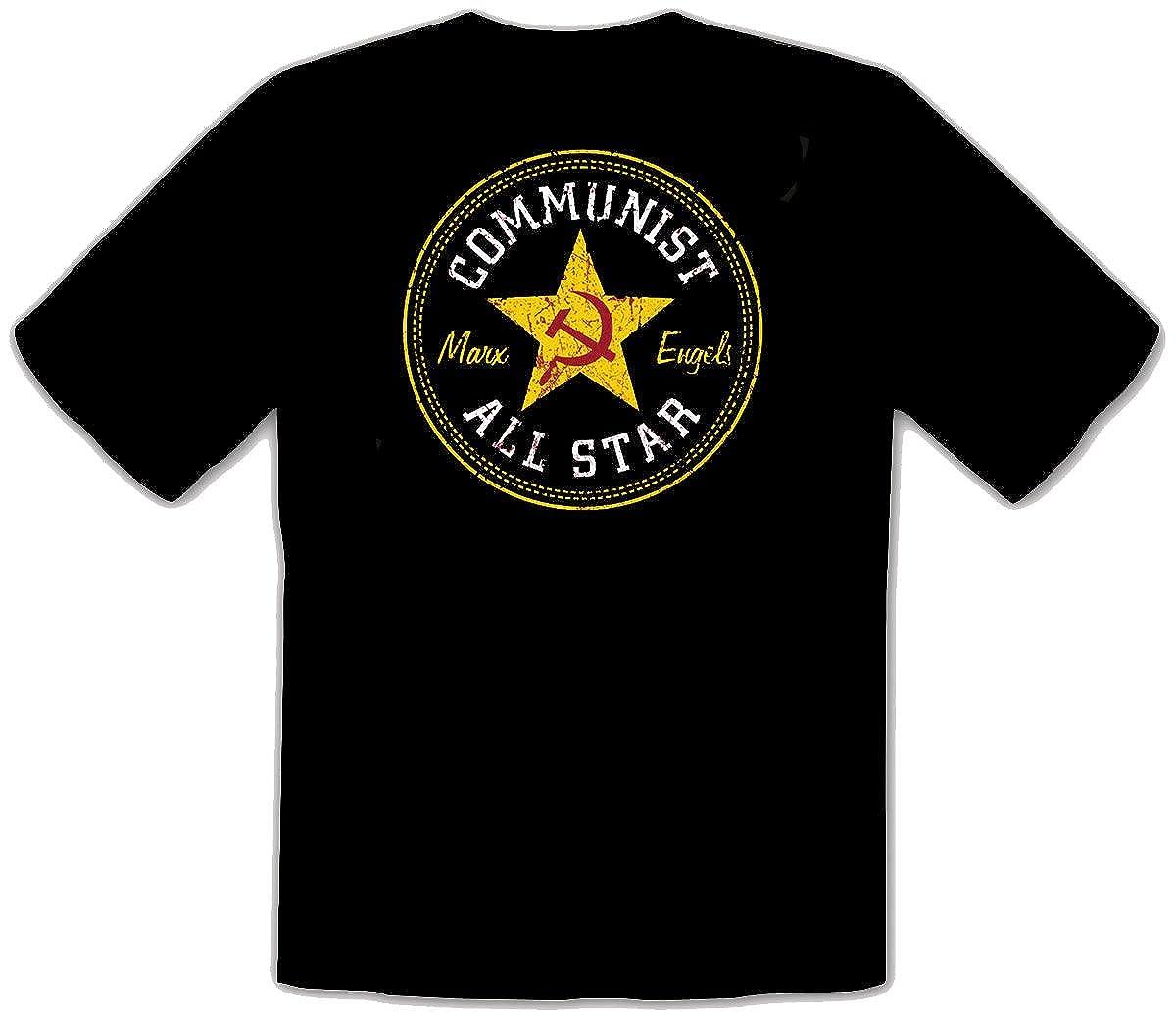 Converse All Star Communist Marx Engrls Fun T Shirt 014