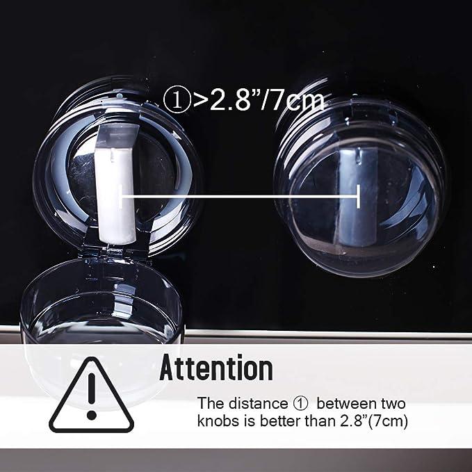 Amazon.com: EUDEMON 6 Pack seguridad cocina los niños Estufa ...