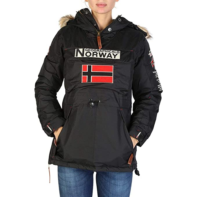 Geographical Norway Chaqueta Boomera_Woman_New Mujer Color: Negro Talla: 5