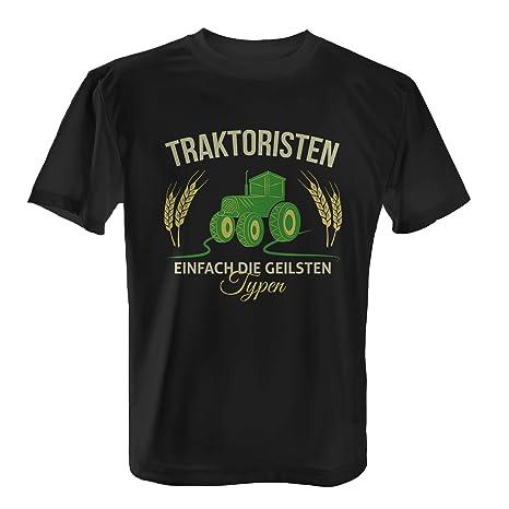 Traktoristen Einfach die geilsten Typen - Herren T-Shirt von Fashionalarm | Fun  Shirt Landwirt Landwirtschaft Traktor Trekker Bauer Geschenk: Amazon.de: ...