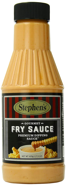 Stephen's Gourmet Fry Sauce, 17.5-Ounce Bottles (Pack of 3)
