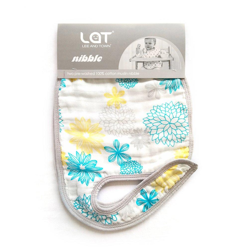 Baby Bibs,Baby Burp Cloth,Baby Feeding Drooling Teething Bibs With Snap 2 Pack Pink Seaworld,14x 9