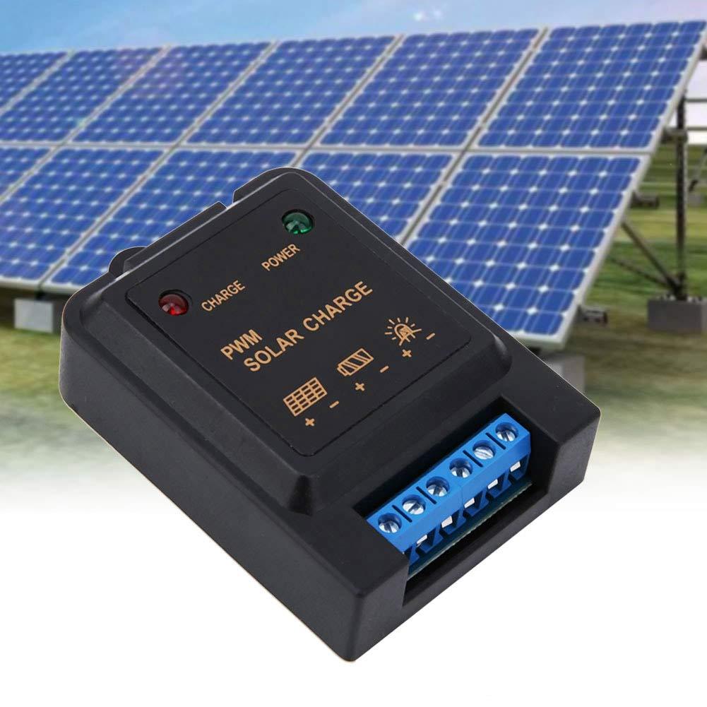3A 6V//12V Rasenleuchte Gartenleuchte Insektizide Lampe Solarladeregler und Entladeregler mit Lichtregelung Solarladeregler