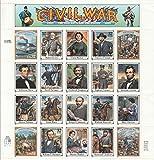 Civil War 20 x 32¢ U.S. Postage Stamps 1995 Scott #2975