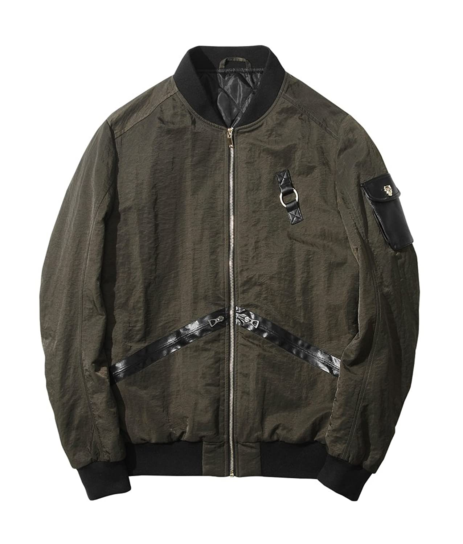 Men's Softshell Sportswear Baseball Bomber Jacket Coat