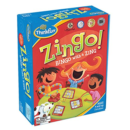 Think Fun Zingo Sight Words Early Reading Game - Toy of the Year Finalist, Developed by Educators for Pre-K to 2nd Graders by Think Fun (Image #1)