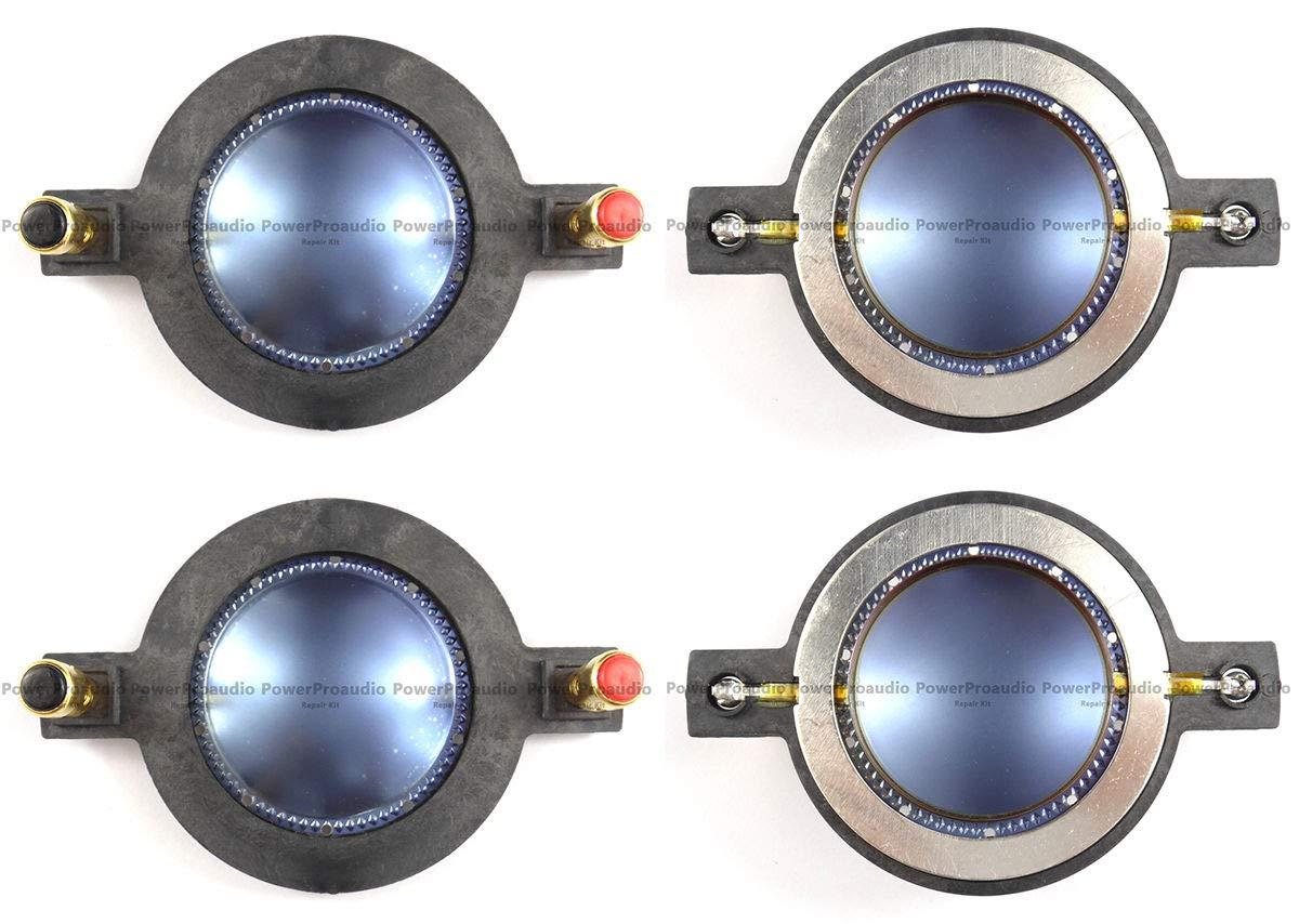 FidgetFidget Replacement Mackie Diaphragm for Audio Speaker 4pcs