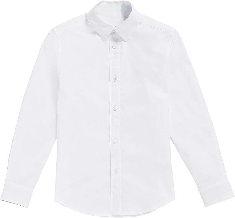 Camisa - para niño Blanco (16 años / 174 cm.): Amazon.es: Ropa y ...