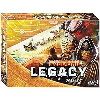 Fantasy Flight Games Pandemic: Legacy Season 2 (Yellow Edition) Board Games