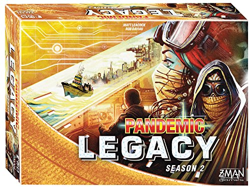 Z-Man Games Pandemic: Legacy Season 2 (Yellow Edition) Board Games by Z-Man Games