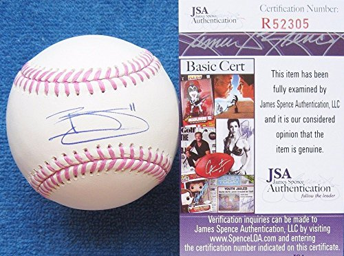 JSA Authenticated Brett Gardner Yankees Autographed Signe...
