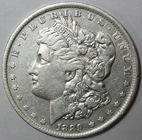 1889 O Morgan Silver Dollar $1 Extremely Fine (1889 Morgan Dollar Silver Coin)