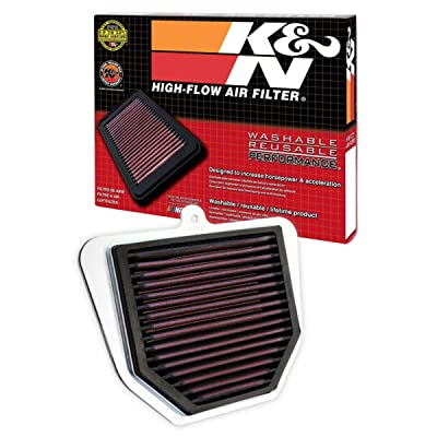 K&N Engine Air Filter: High Performance, Premium, Powersport Air Filter: 2006-2015 YAMAHA (FZ1, FZ1 Fazer, FZ8, FZ1N, FZ1S) YA-1006: Automotive