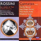 Music : Rossini - Cantatas Volume 2 / Bartoli, Flórez, Kelly, Scano, Barcellona; Chailly