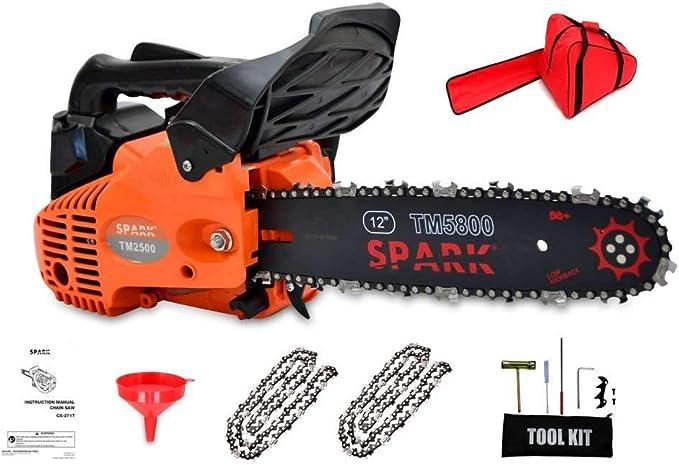 Spark Cilindrada 25 cm3 Espada 30 cm Peso 3,8 Kg