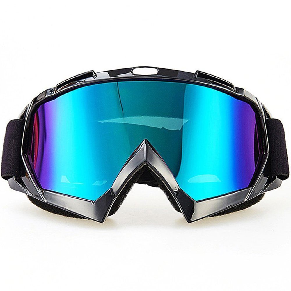 Ski Goggles,Motorcycle Goggles,Amagle Snowboard Adjustable UV Protective Outdoor Tactical Glasses Dust-proof Protective Combat Goggles Military Sunglasses Outdoor Activities Protective Glasses