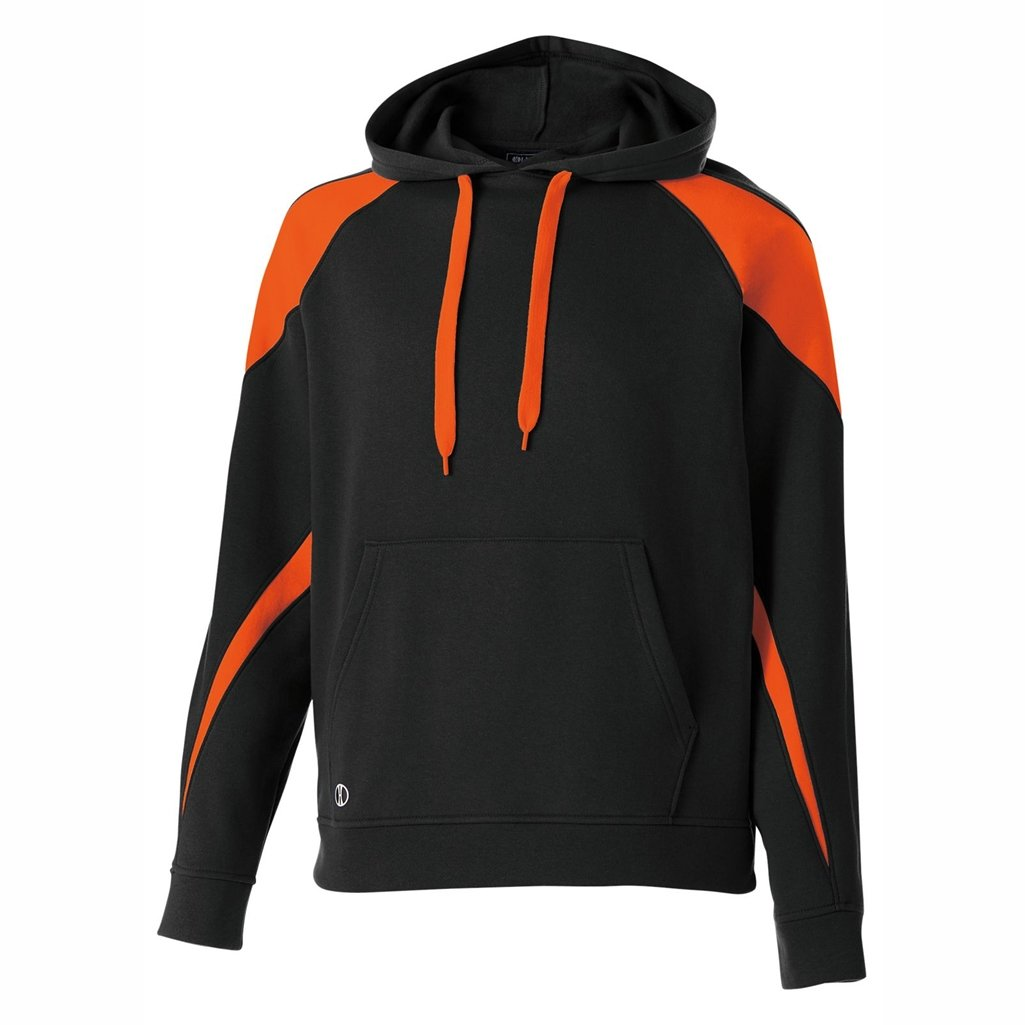 Holloway Youth Prospect Hoodie (Small, Black/Orange)
