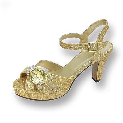 Floral FIC Elva Women Wide Width Evening Dress Sandal for Wedding c137e7af45
