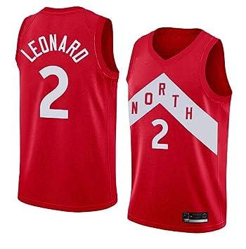 new style b68cb 892c1 Men's Toronto Raptors Kawhi Leonard Red Swingman Jersey - #2 City Edition