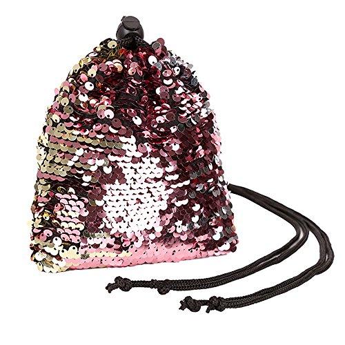 Epaule Femme Portes 3pcs Paillettes Enfants De Femme sacs Cuir Main Étudiant Mode Marque Messager Sacs Dos Dodumi Rouge Cordon Sac La À xvwzqYf06
