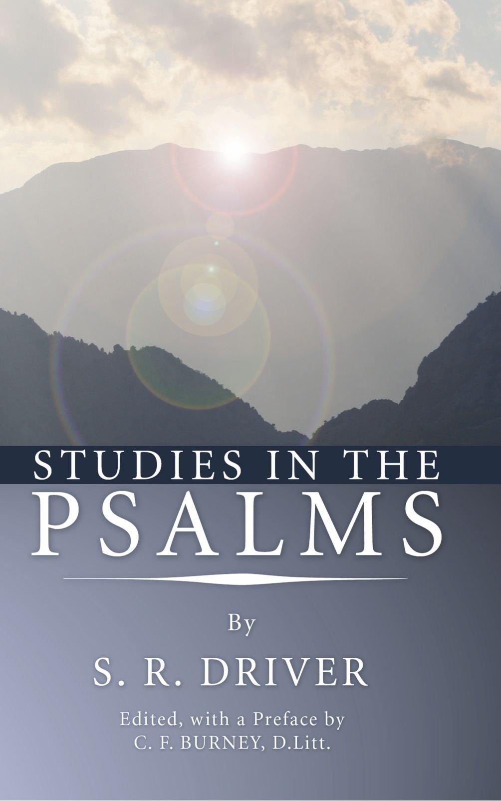 Download Studies in the Psalms: ebook