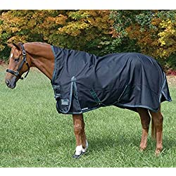 Shires Stormbreaker Plus Lite, Navy/Turquoise - 78