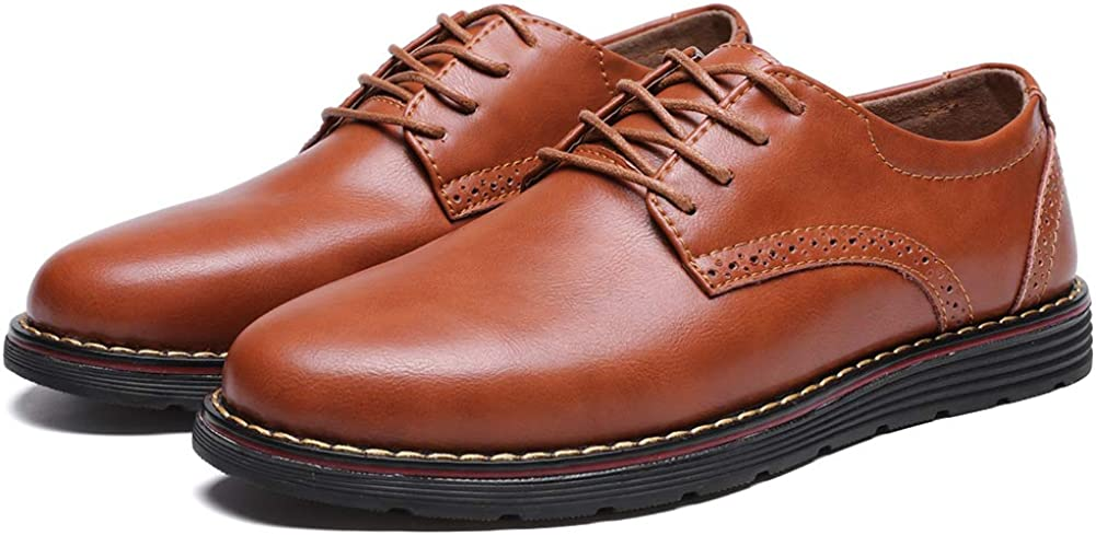 50% Off Coupon – Men's Dress Shoes Genuine Leather Oxford Formal Classic