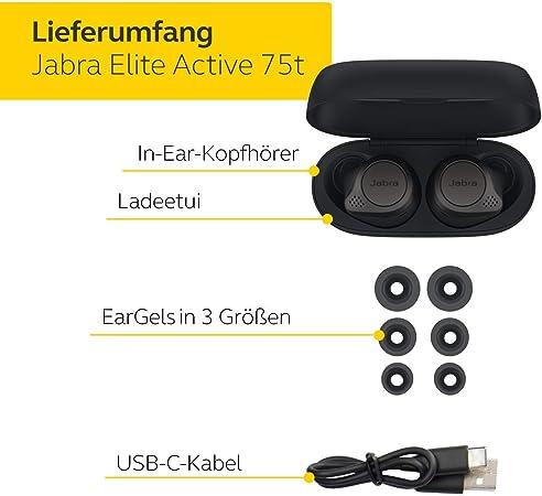 Jabra Elite Active 75t True Wireless Stereo In Ear Elektronik