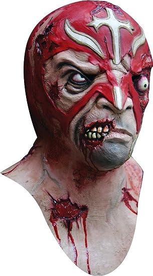 Máscara de zombie luchador Halloween