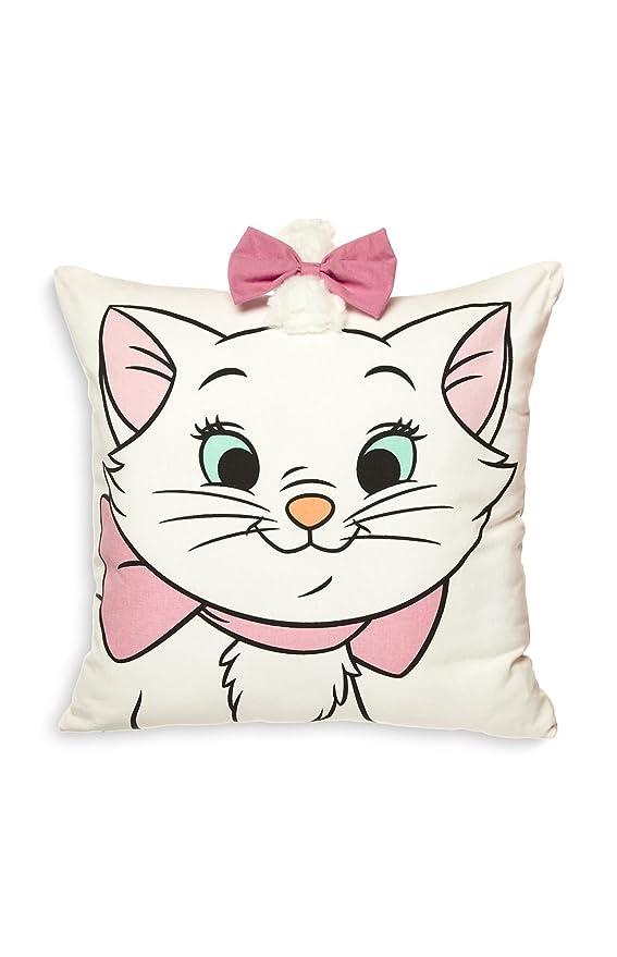 Primark Disney Aristocats Marie - Almohada, color blanco y ...