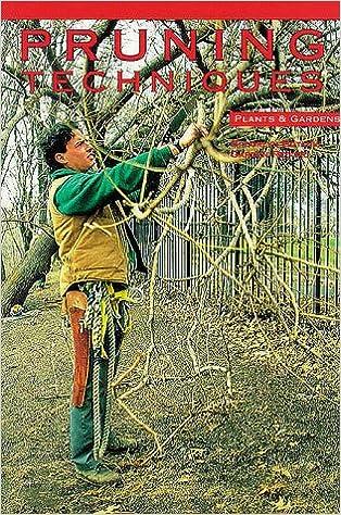 Book Pruning Techniques (Brooklyn Botanic Garden Record)
