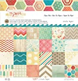 Crate Paper The Pier Paper Pad, 12 by 12-Inch, Office Central