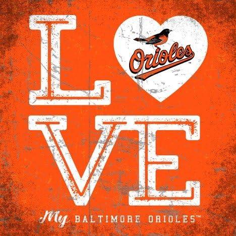 Square Baltimore Orioles Color Love My Team