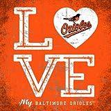 Baltimore Orioles Color Love My Team - Square