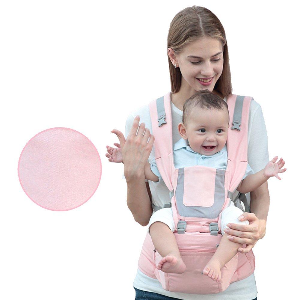 Amazon.com : Baby carrier, Full seasons Multi-position Full seasons Baby carrier for infants and toddlers Front-hold Waist stool Cross hug Sitting stool ...