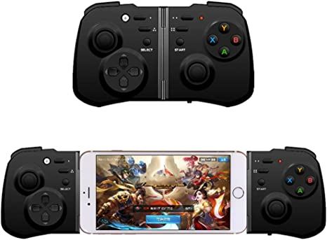 SZXC Telescopic Wireless Game Controller Smartphone Gamepad Compatible with Android/IOS Ebook Tablet TV PC Extend Bluetooth Controller convenient: Amazon.es: Videojuegos