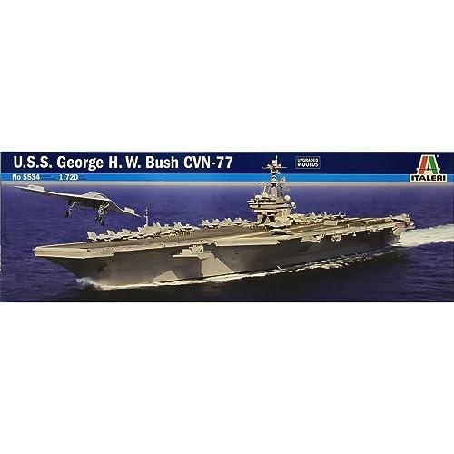 U.S.S. George H.W.Bush CVN-77 1:720 Scale Model Kit - [並行輸入品]