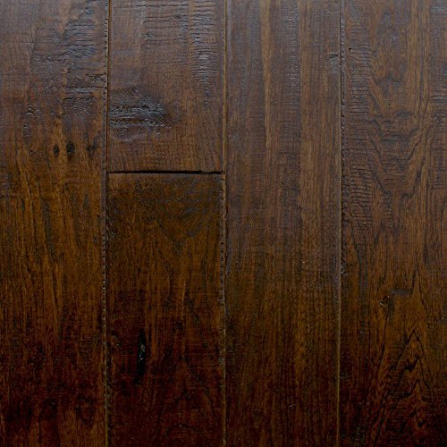 Hickory Chestnut 3/8 in. Thick x 4-3/4 in. x Random Length Click Hardwood Flooring (22.5 sq. ft. / case)