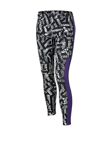 8c0a7e7af406a7 Amazon.com: Nike Girls Athletic Leggings (Black/Purple/White) 679093 ...
