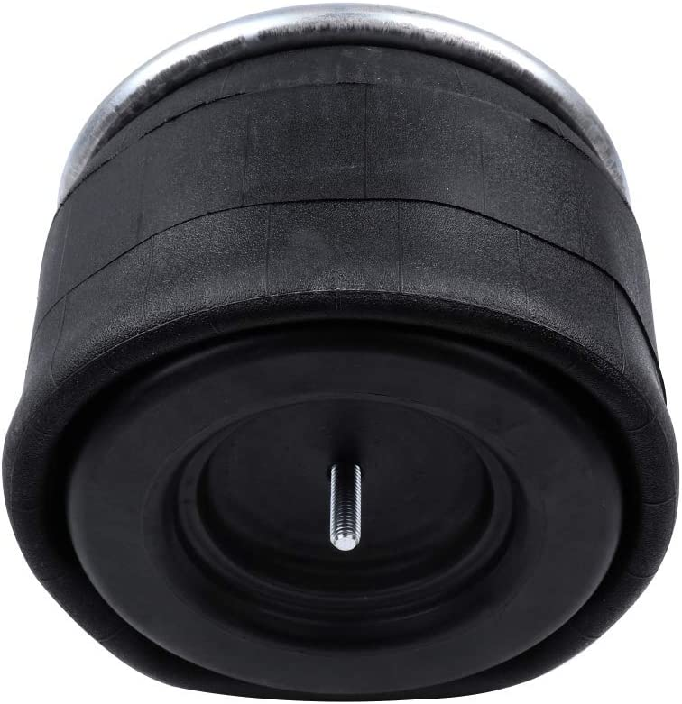 TUPARTS Air Suspension Air spring W01-358-8709 Universal Air Ride Suspension Fit for Firestone//Hendrickson//Blacktech//ContiTech//Goodyear//Springride//Triangle pack of 2