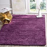Safavieh California Premium Shag Collection SG151-7373 Purple Area Rug (3' x 5')