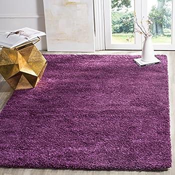 safavieh california shag collection sg1517373 purple area rug 4u0027 x
