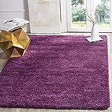 Safavieh California Shag Collection SG151 7373 Purple Area Rug (8u0027 X 10u0027)