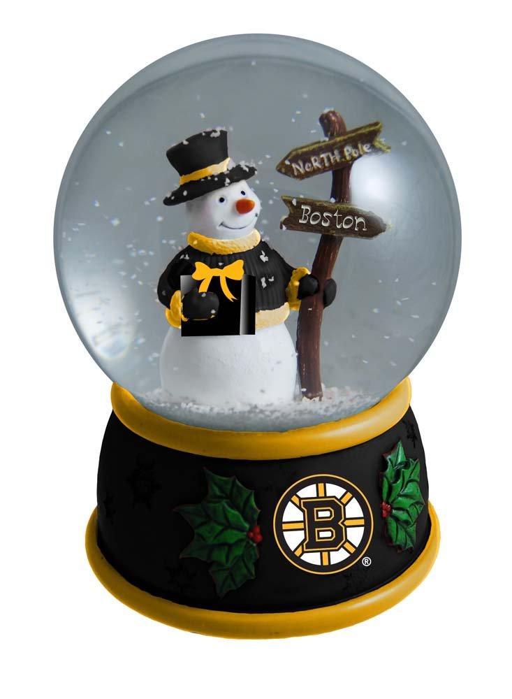 The Memory Company NHL Boston Bruins Christmas Snow Globe, One Size, Multicolor NHL-BBR-1694