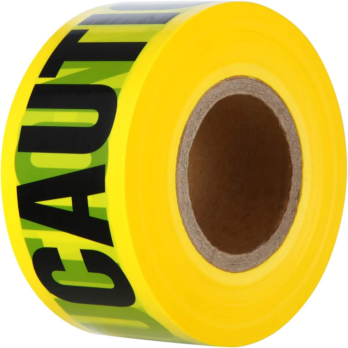 VICMORE Yellow CAUTION Tape 3-Inch by 1000-Feet Strong Barricade Tape Heavy-duty 2 Mil Thick Construction Tape Safety Barrier Tape Party Decoration Tape