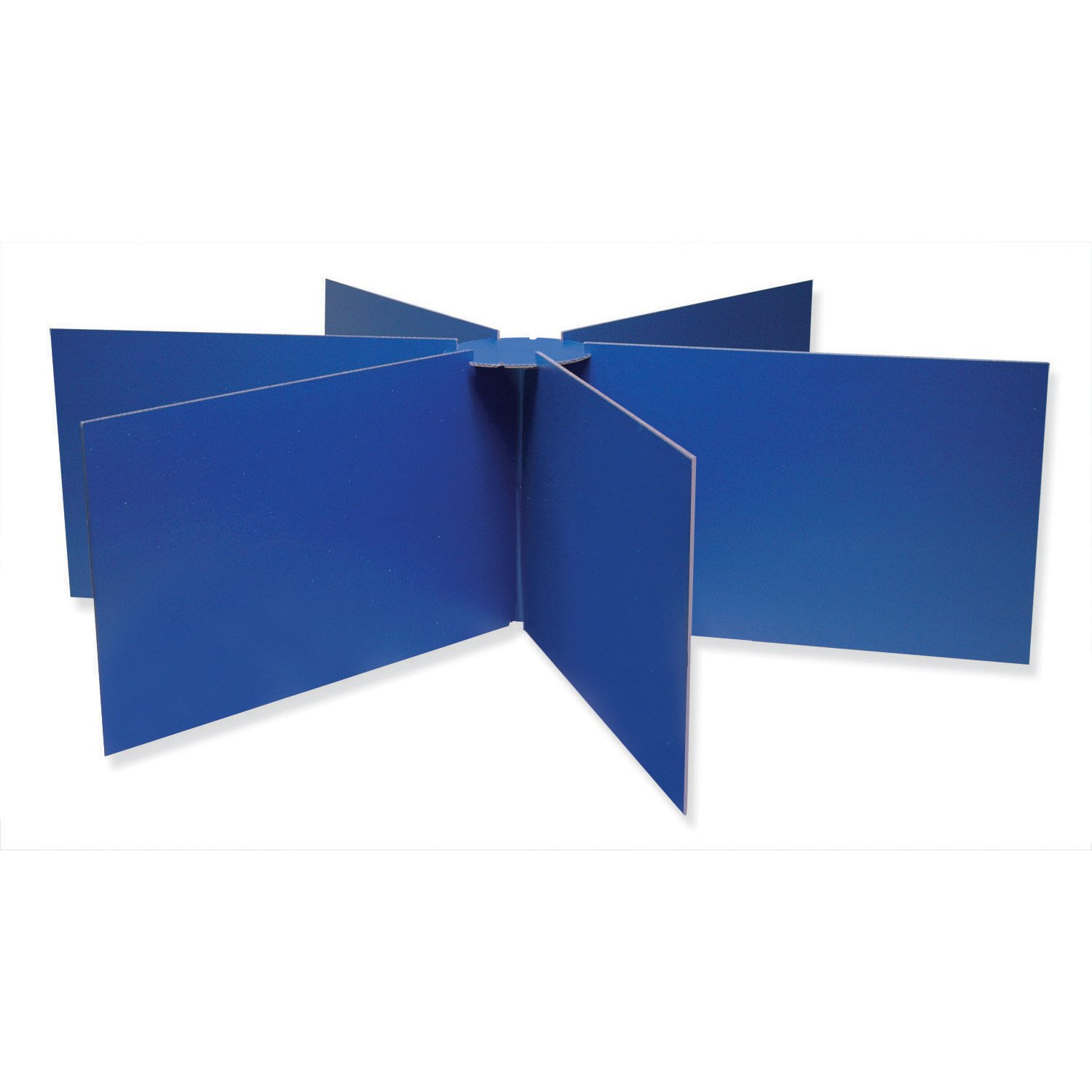 Pacon Round Table Privacy Boards, 48-Inch Diameterx14-Inch High, Blue Pacon Corporation 3788