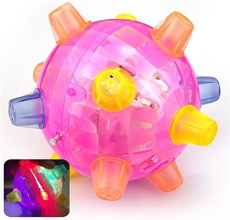 xiaohan Salto de luz LED Activa la luz de la Bola de la música ...