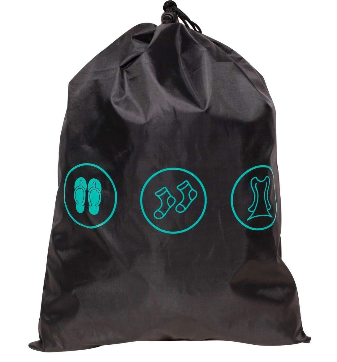 Skyline Carry On Luggage Set 3pc Set Teal